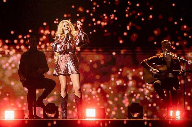 "Eurovizija 2020. Finalas. Monika Marija – ""If I leave"""