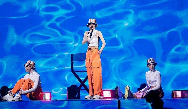 """Eurovizija 2020. Finalas. KaYra – """"Alligator"""""""