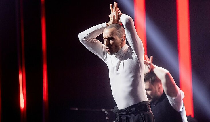 """Eurovizija 2020. Finalas. The Roop – """"On Fire"""""""
