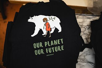 Utenos Trikotažas is now producing tshirts for Greenpeace.