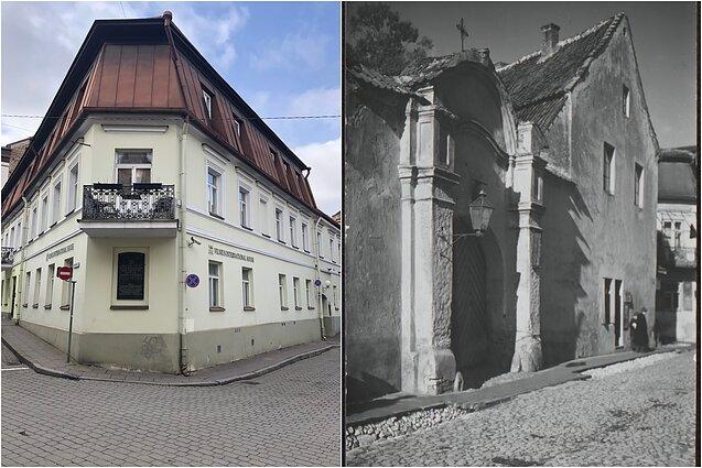 Vilniaus vyriausiosios rabinų mokyklos tarybos namai, kuriuose buvo apsistojęs Teodoras Herclis. Šv. Ignoto gatvė