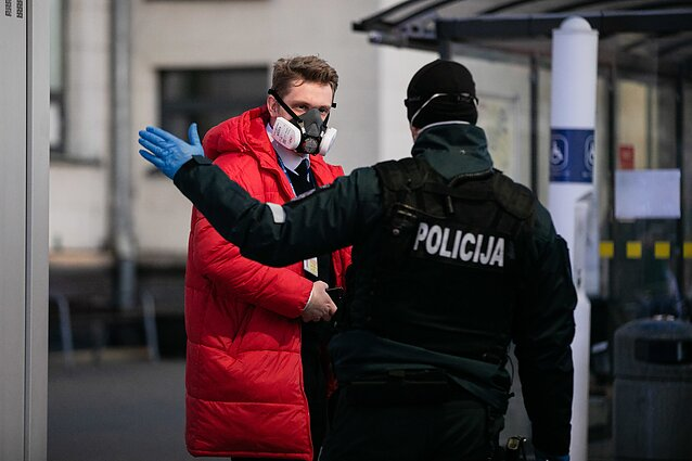 People returning to Lithuania as of March 24 will be placed in mandatory 14-day quarantine.