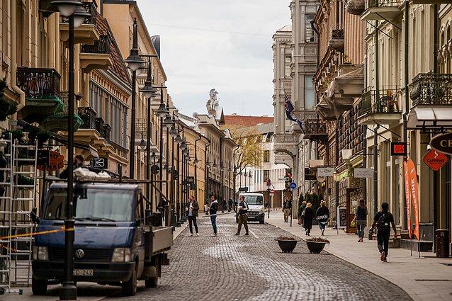 Karantinas, Vilnius