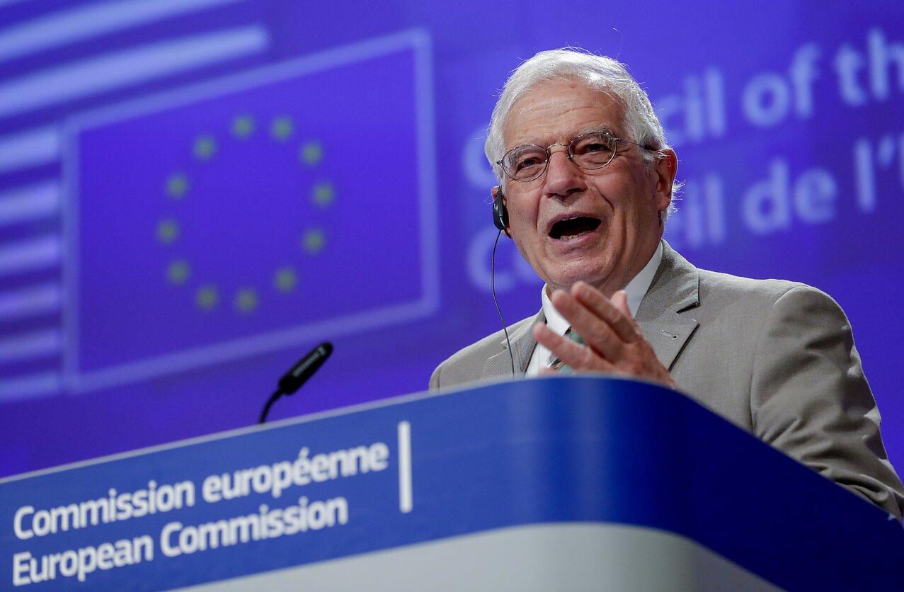 ES vyriausiasis įgaliotinis užsienio reikalams ir saugumo politikai Josepas Borrellis
