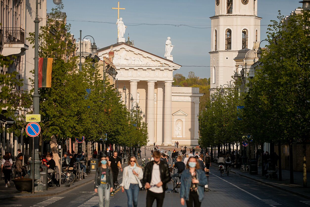 Karantinas mieste. Karantinas Lietuvoje