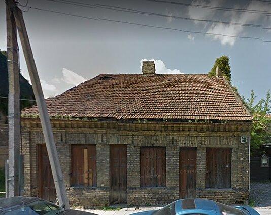 Namas Užupio g. 38A iki renovacijos
