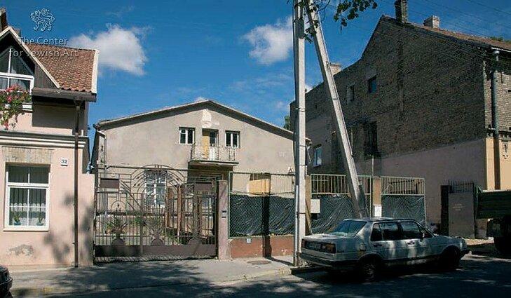 Užupio sinagoga iki renovacijos