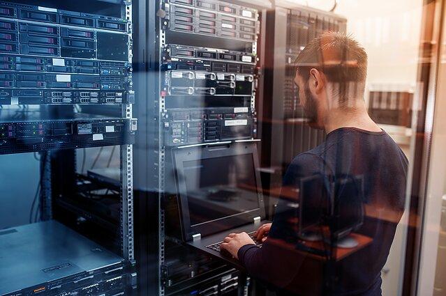 Duomenų serveriai (asociatyvi nuotr.)