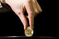 vidutinis prekybos apyvartomis bitkoinas