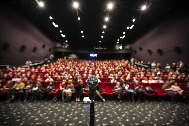 Kino teatro salė