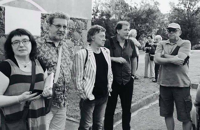 Giedrė Kadžiulytė, Reinas Raudas, Antanas A. Jonynas, Darius Kuolys, Saulius Tomas Kondrotas