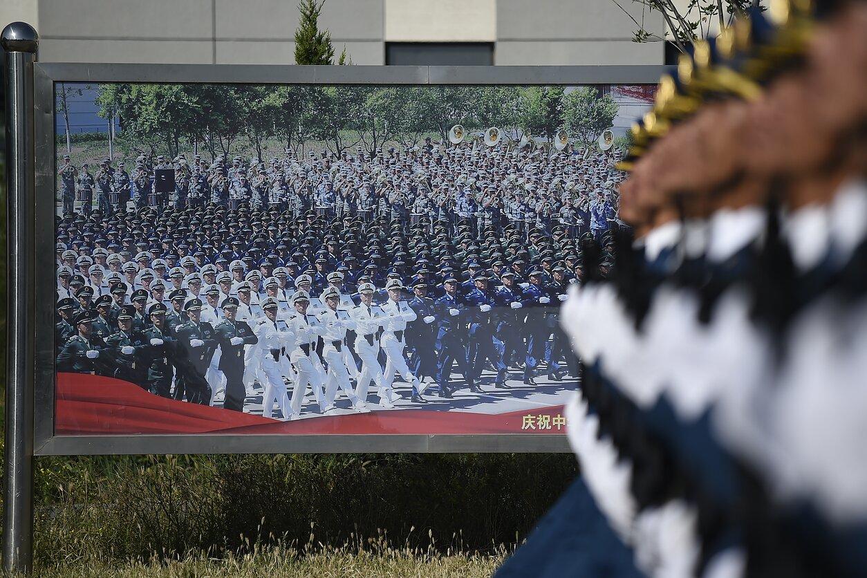 Kinijos kariuomenės repeticija