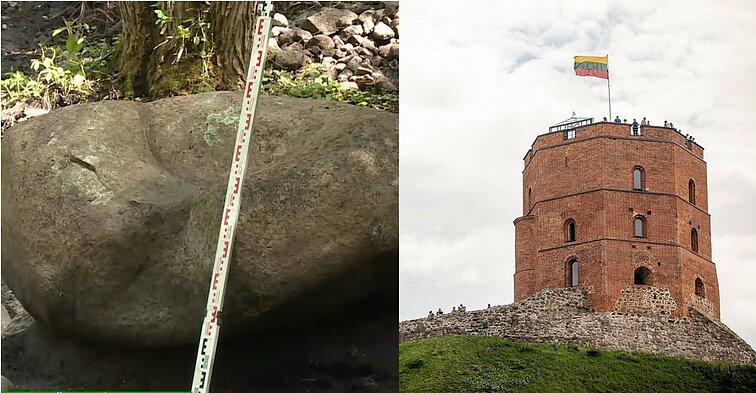 Archeologai neabejoja, kad Gedimino pilis stūksojo ir Šilalės rajone, – rastas net akmeninis sostas