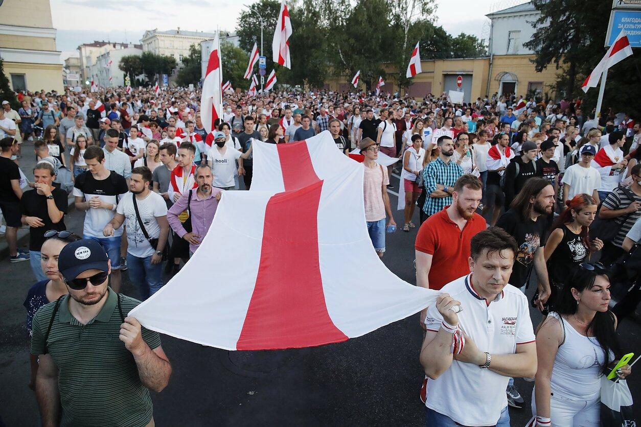 В поддержку народа Беларуси