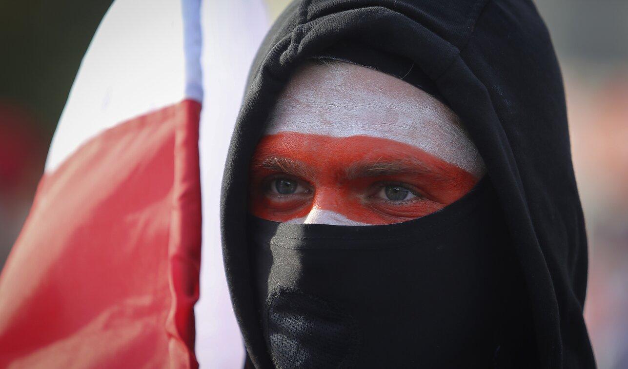 Protestai Baltarusijos sostinėje Minske