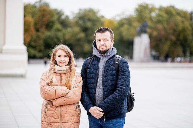 Ольга и Андрей Паук