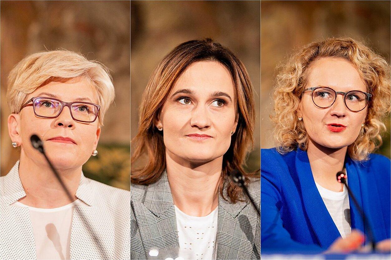 Ingrida Šimonytė, Viktorija Čmilytė-Nielsen, Aušrinė Armonaitė