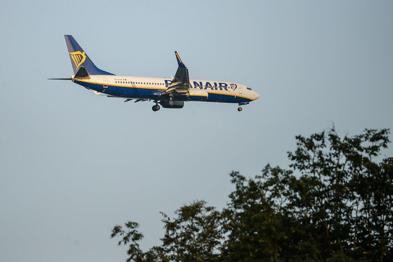 """""""Ryanair"""" skrydžių bendrovė, asociatyvi nuotr."""