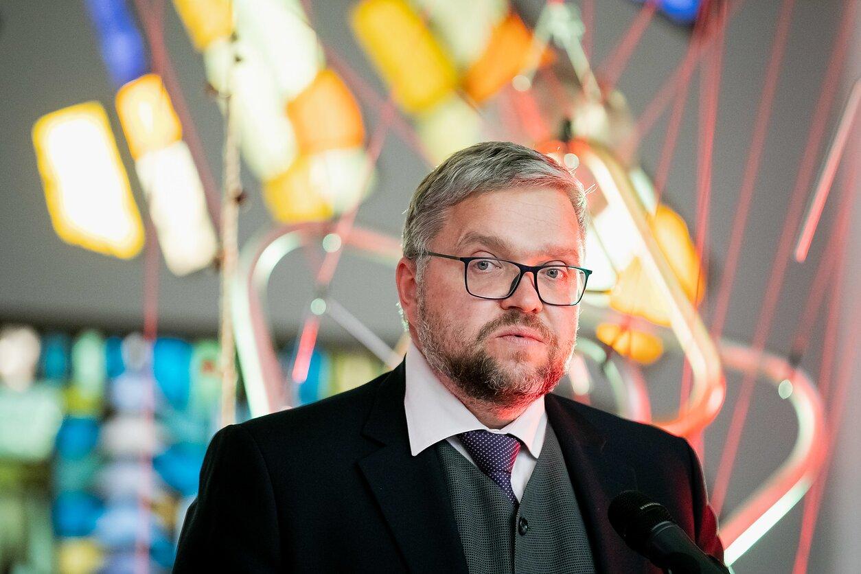 Lietuvos banko vadovas Vitas Vasiliauskas