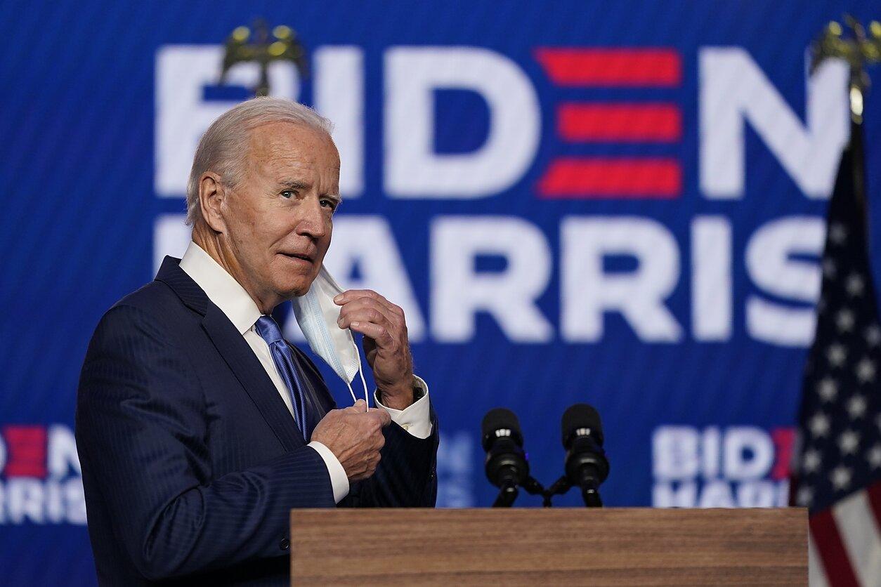 JAV prezidento rinkimus laimėjo Joe Bidenas