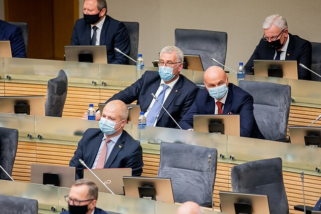 Members of the Lithuanian parliament