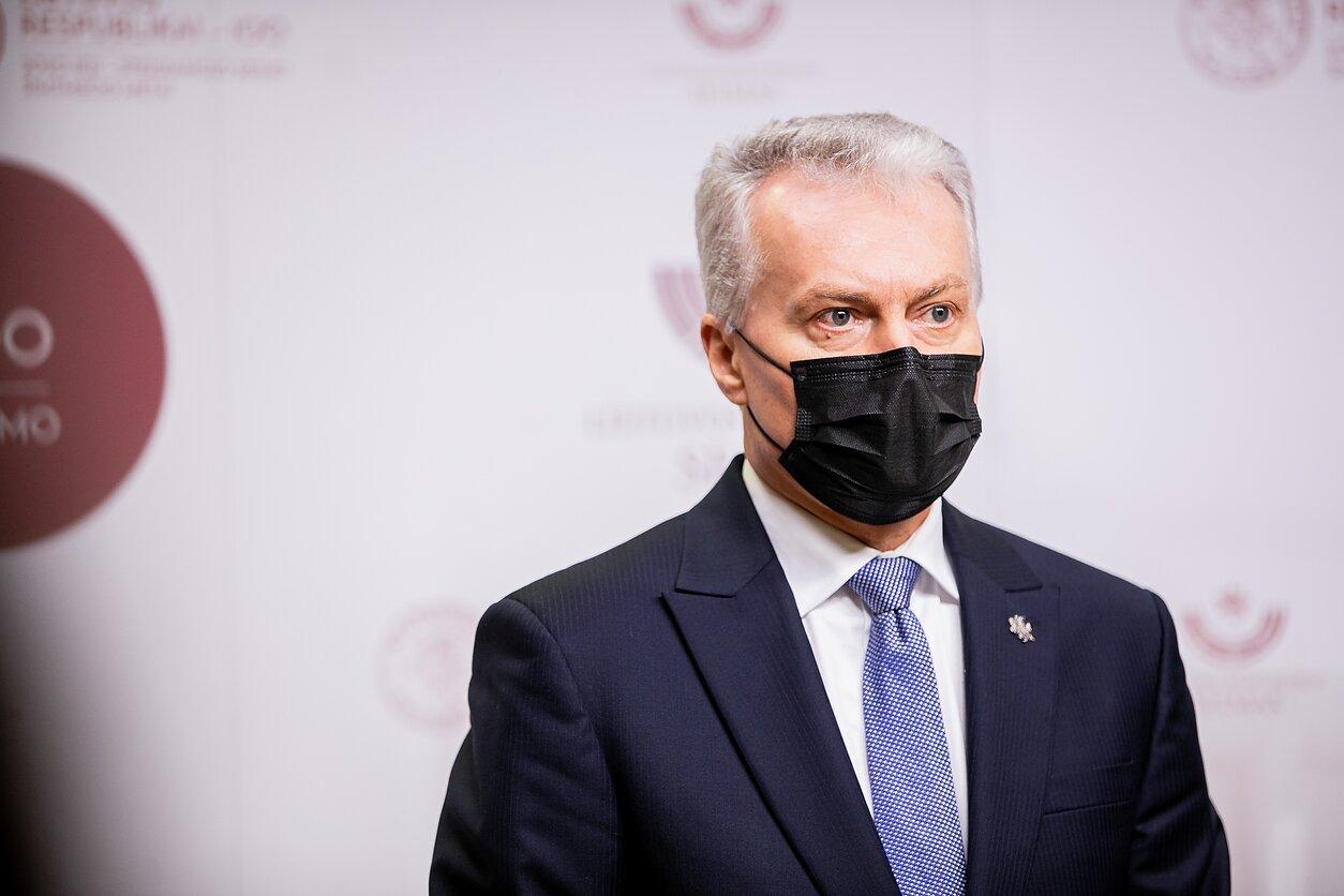 Gitanas Nausėda Seime