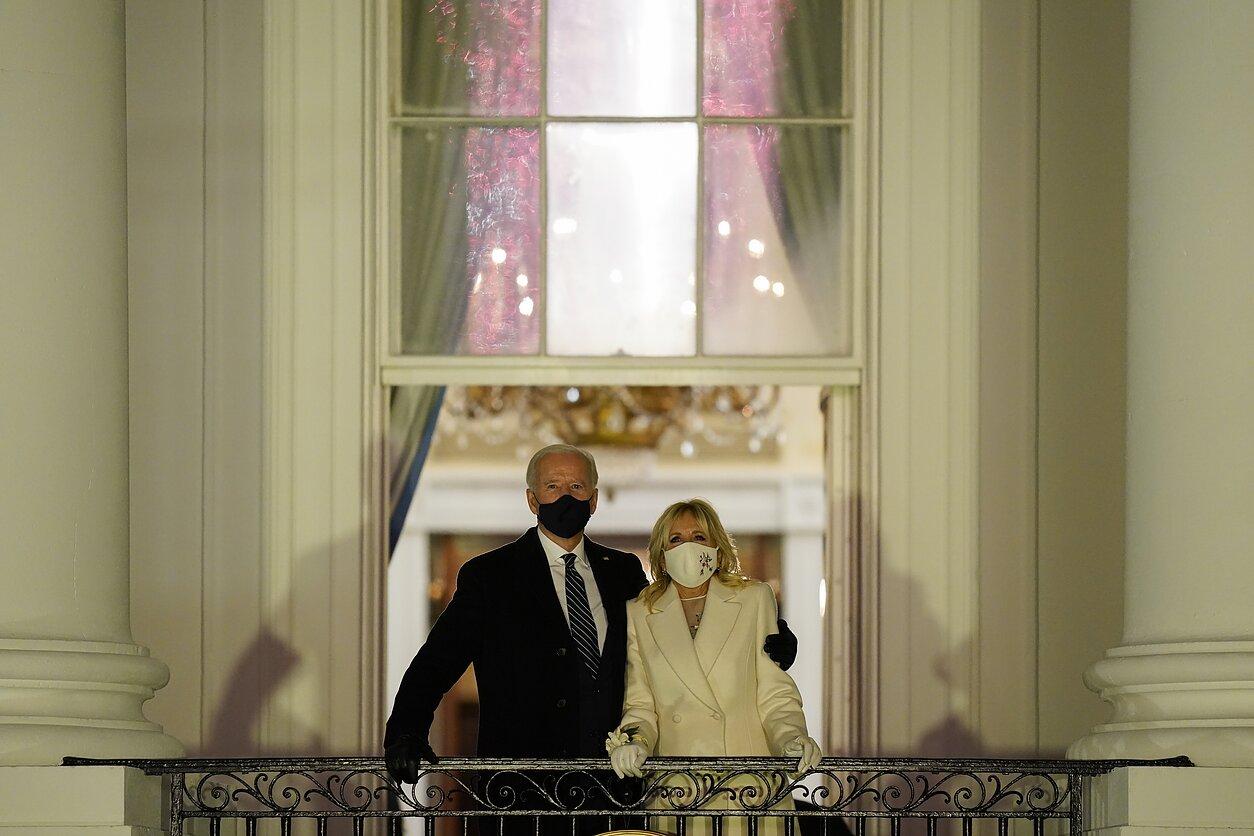 Joe Bidenas ir Jill Biden
