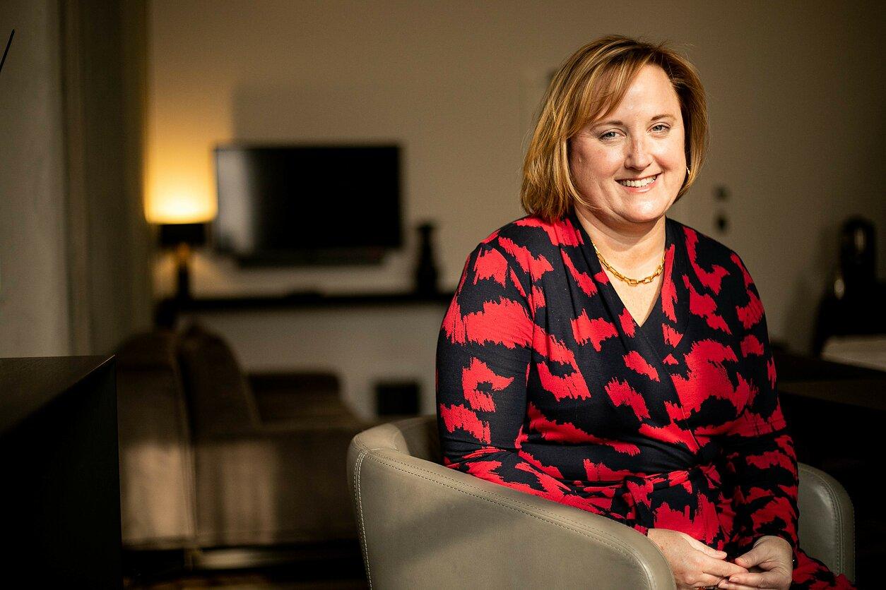 JAV ambasadorė Baltarusijoje Julie Fisher