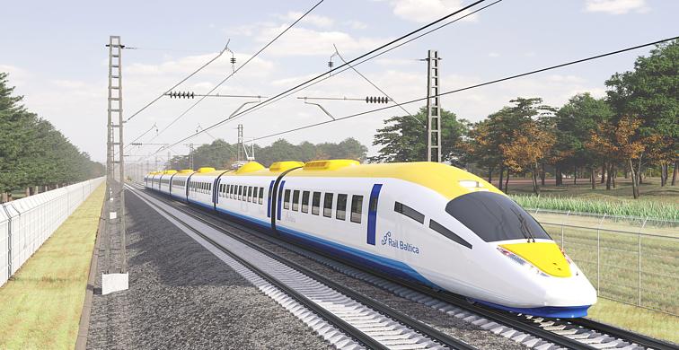 """""""RB Rail AS"""" pristato koncepcinį traukinį"""