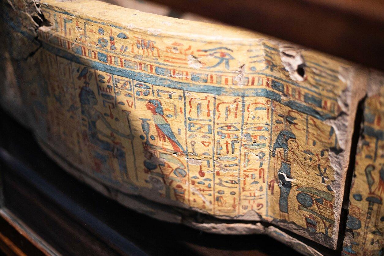 """Istorijų namai. Paroda """"Ką slepia sarkofagas?"""""""