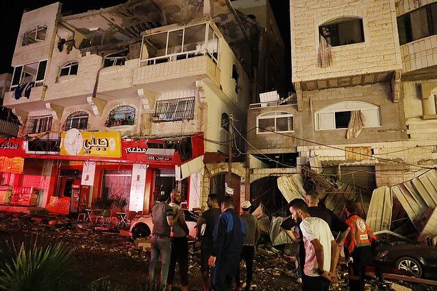 Gazos ruožas po antskrydžių
