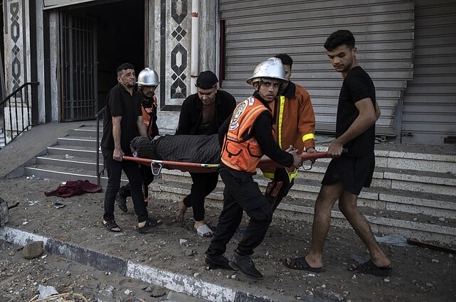 Auga įtampa Gazos Ruože